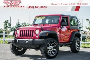 2015 Jeep Wrangler Sport 4X4 MAGS 4 PASSAGERS A/C