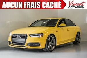 2015 Audi S4 2015+S4+CUIR+TOIT+NAV+CAMERA RECUL+MAGS ACCIDENT F