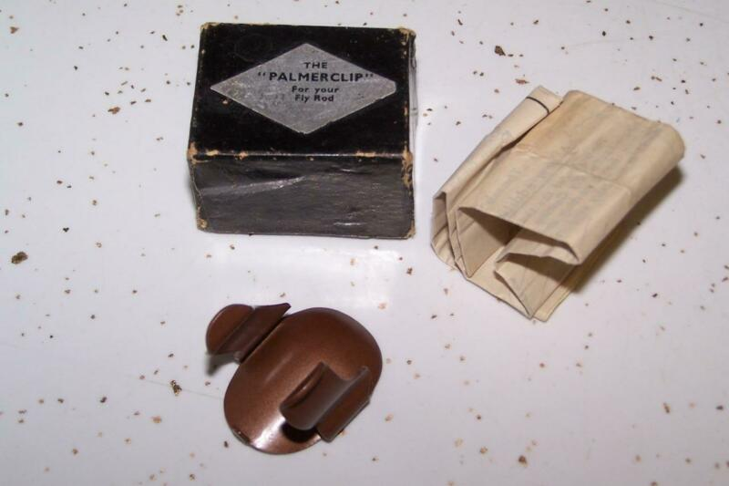 """The """"PALMERCLIP"""" For Your Fly Rod In The Original Box With Instructions!!!"""