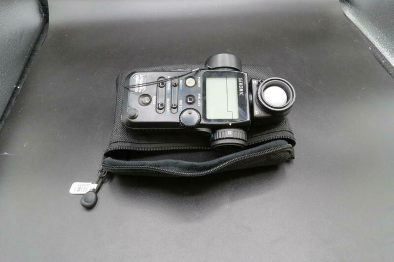 Sekonic L-758DR Digitalmaster Incident Reflected Flash Spot Meter