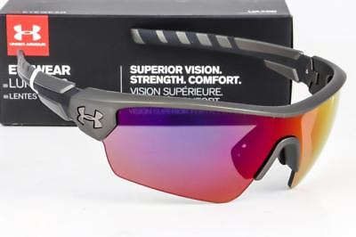 NEW UNDER ARMOUR RIVAL SUNGLASSES UA Ceramic Charcoal / Infrared (Infrared Sunglasses)