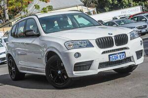 2014 BMW X3 F25 MY1213 xDrive20d Steptronic White 8 Speed Automatic Wagon