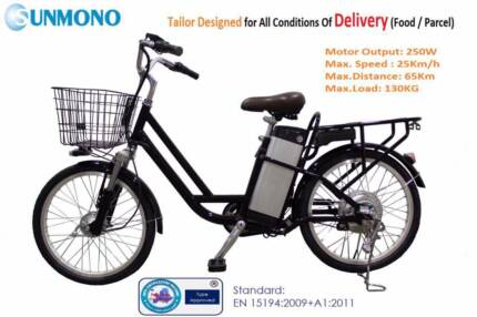 Brand New Electric Bike for Commercial/Personal Delivery