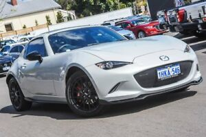 2018 Mazda MX-5 ND Limited Edition RF SKYACTIV-MT White 6 Speed Manual Targa Bayswater Bayswater Area Preview