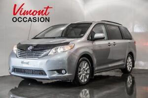 2014 Toyota Sienna XLE CUIR TOIT CAMERA DE RECUL SERVICE RECORD