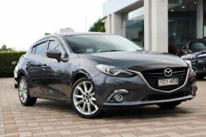 2014 Mazda 3 BM5436 SP25 SKYACTIV-MT GT Grey 6 Speed Manual Hatchback