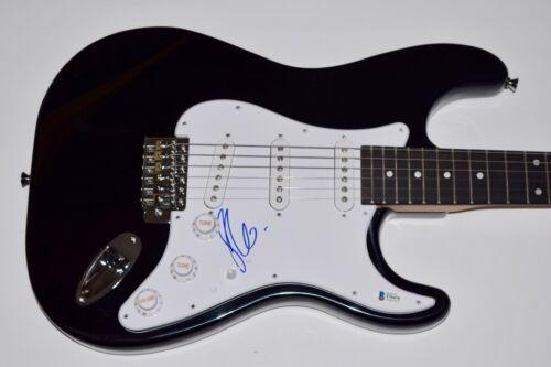 Jennifer Lopez Signed Autographed Electric Guitar Beckett BAS COA