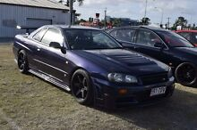 1998 Nissan Skyline Coupe R34 GTT Kelvin Grove Brisbane North West Preview