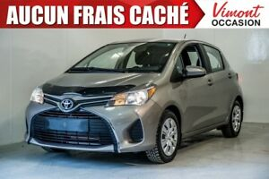 2015 Toyota Yaris 2015+LE+HB+A/C+GR ELEC COMPLET+BLUETOOTH ONE O