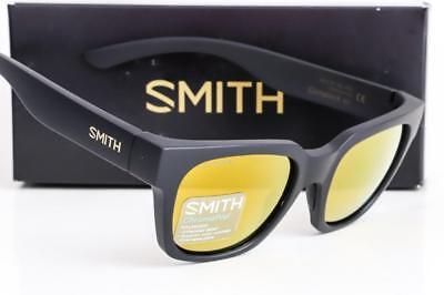 Smith Comstock Sonnenbrille David Luiz Unterschrift Schwarz / Bronze Chromapop