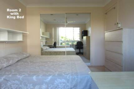 Large Twin-share or Double Room for Two Females or one Couple