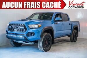 2018 Toyota Tacoma 2018+TRD PRO+DOUBLE CAB+NAV+CUIR+CAMERA RECUL