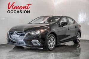 2014 Mazda Mazda3 GX-SKYACTIVE  GR.ELECTRIQUE+ AIR CLIMATISE+ BL