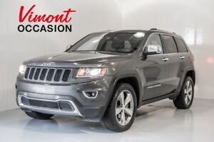 2014 Jeep Grand Cherokee LIMITED CUIR TOIT MAGS GPS CAMÉRA DE RE