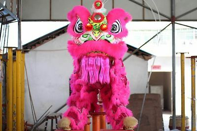 Cute Costumes For Adults (Cute For Two Adult High Quality  Lion Dance Costume Natural Wool Southern Lion)
