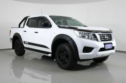 2017 Nissan Navara D23 Series II SL (4x4) White 7 Speed Automatic Dual Cab Utility Bentley Canning Area Preview
