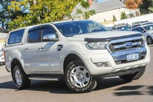 2016 Ford Ranger PX MkII XLT Double Cab 4x2 Hi-Rider White 6 Speed Sports Automatic Utility Bayswater Bayswater Area Preview