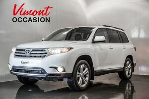 2013 Toyota Highlander SPORT AWD TOIT MAGS CUIR NO ACCIDENT REPO