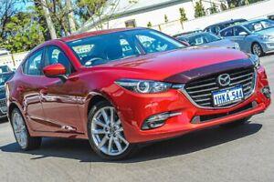 2016 Mazda 3 BN5236 SP25 SKYACTIV-MT Red 6 Speed Manual Sedan Bayswater Bayswater Area Preview