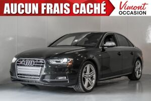 2013 Audi S4 2013+PREMIUM+CUIR+NAV+SIEGES CHAUFFANTS ACCIDENT F