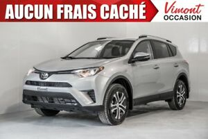 2017 Toyota RAV4 2017+AWD+LE+CAMERA RECUL+SIEGES CHAUFFANTS NO A