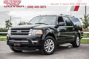 2016 Ford Expedition max Limited 4X4 CUIR MAGS NAV CAMÉRA TOIT A