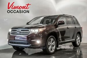 2013 Toyota Highlander SPORT 4WD V6 CUIR TOIT OUVRANT HEATED SEA