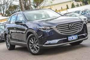 2021 Mazda CX-9 TC Touring SKYACTIV-Drive Blue 6 Speed Sports Automatic Wagon Bayswater Bayswater Area Preview