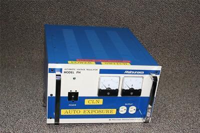 Stavol Matsunaga Automatic Voltage Regulator Model Fh1500 15kva Used Sale 599