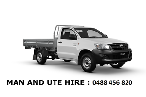 Man and ute hire from $40 Upper Mount Gravatt Brisbane South East Preview