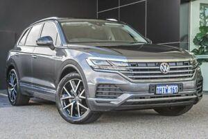 2019 Volkswagen Touareg CR MY19 190TDI Tiptronic 4MOTION Launch Edition Grey 8 Speed Wangara Wanneroo Area Preview