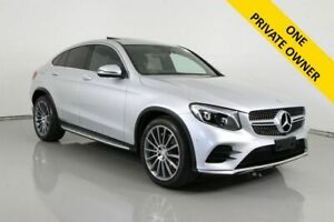 2016 Mercedes-Benz GLC220D 253 MY17 Silver 9 Speed Automatic G-Tronic Coupe Bentley Canning Area Preview