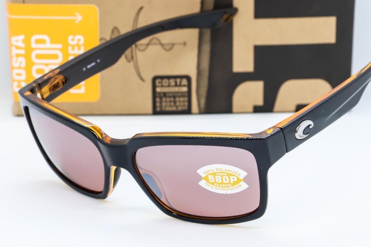 Мужские солнцезащитные очки NEW COSTA DEL MAR PLAYA SUNGLASSES Black  frame Silver Mirror 580P Polarized lens - 362472566154 - купить на eBay.com  (США) с ... 161ccd75bcf8a