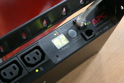 APC AP 7920 Masterswitch PDU / Reset to factory default