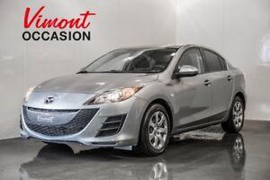 2010 Mazda Mazda3 GX AUTOMATIQUE GR.ELECTRIQUE+ A/C 2010/ LOW MI