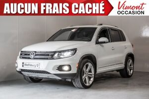 2015 Volkswagen Tiguan R-LINE FREE ACCIDENT, LEATHER, GPS