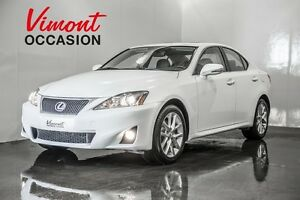 2013 Lexus IS 250 AWD CUIR TOIT OUVRANT MAGS HEATED SEATS