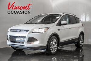 2014 Ford Escape AWD TITANIUM 2.0L NAVIGATION SYS. LEATHER PANOR
