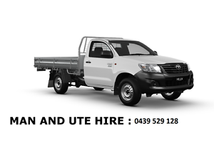 Man and ute hire from $50 brisbane Carina Heights Brisbane South East Preview