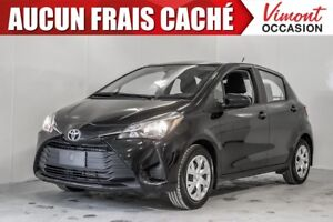 2018 Toyota Yaris 2018+HB+LE+SIEGES CHAUFFANTS+CAMERA RECUL NO A