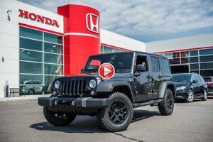 2017 Jeep Wrangler Unlimited WILLYS WHEELER + GARANTIE COMPLÈTE