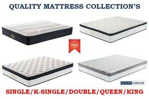 NEW BEDS/MATTRESS - CLEARANCE SALE | SINGLE/DOUBLE/QUEEN/KING