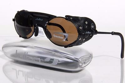 NEW JULBO MICROPORE SUNGLASSES Matte Noir / Black Glacier Glasses Spectron 3