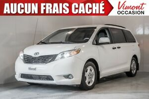2013 Toyota Sienna 2013+CE+A/C+GR ELEC COMPLET+7 PASSAGERS NO AC