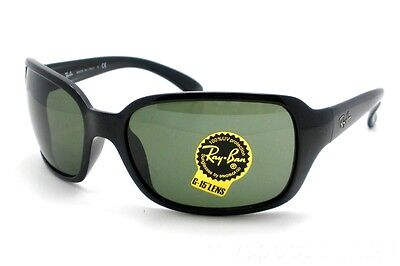 8bb0a8590b84e Ray Ban RB 4068 601 G15 Black Green Sunglasses New Authentic