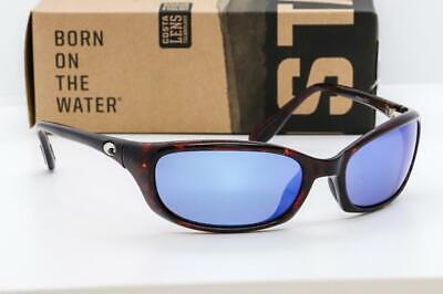 Costa Del Mar Harpoon Polarized Sunglasses, Tortoise, Blue M