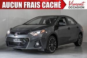 2015 Toyota Corolla S TOIT OUVRANT MAGS CAMERA DE RECUL NO ACCID