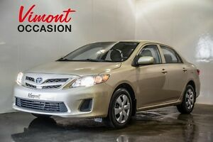 2012 Toyota Corolla A/C GR ÉLEC COMPLET BLUETOOTH HEATED SEATS