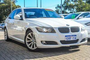 2009 BMW 3 Series E90 MY09 325i Steptronic White 6 Speed Sports Automatic Sedan