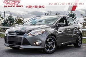2014 Ford Focus SE AUTO+MAGS+TOIT+BLUETOOTH+BANCS CHAUFFANTS+A/C